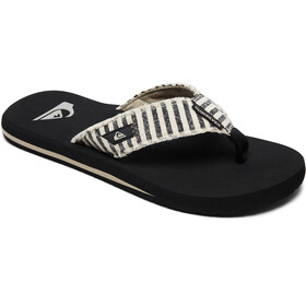 Quiksilver Monkey Abyss Sandals Men Black/Black/Grey